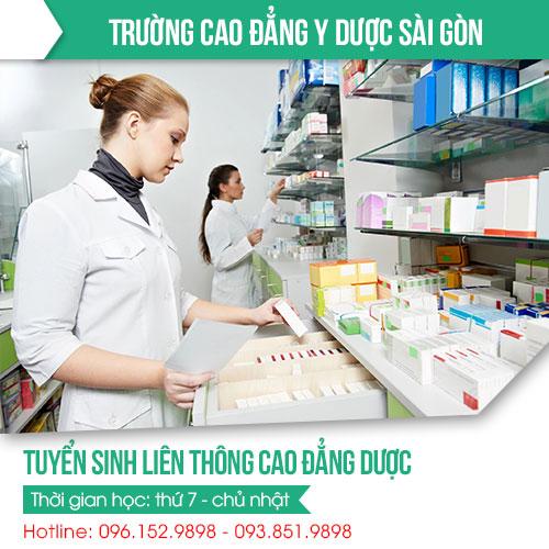 Học Phí liên thông Cao đẳng Dược Sài Gòn 20