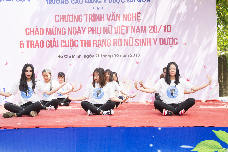 Trường Cao đẳng Y Dược Sài Gòn hưởng ứng ngày Phụ nữ Việt Nam 20/10 9