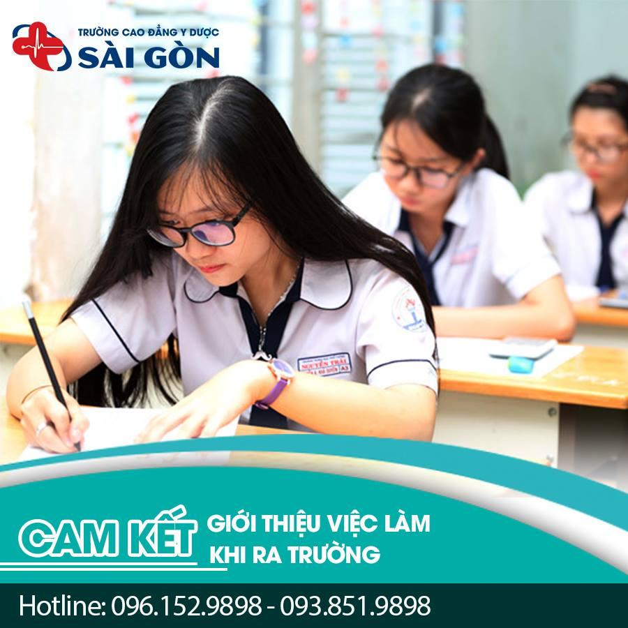 Tuyển sinh Cao đẳng Y Dược Sài Gòn năm 2018