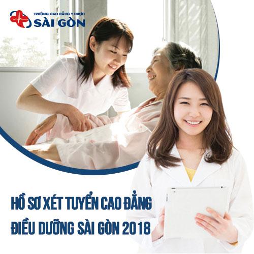 Thời gian nộp hồ sơ đăng ký xét tuyển Cao đẳng Điều dưỡng Sài Sòn năm 2018