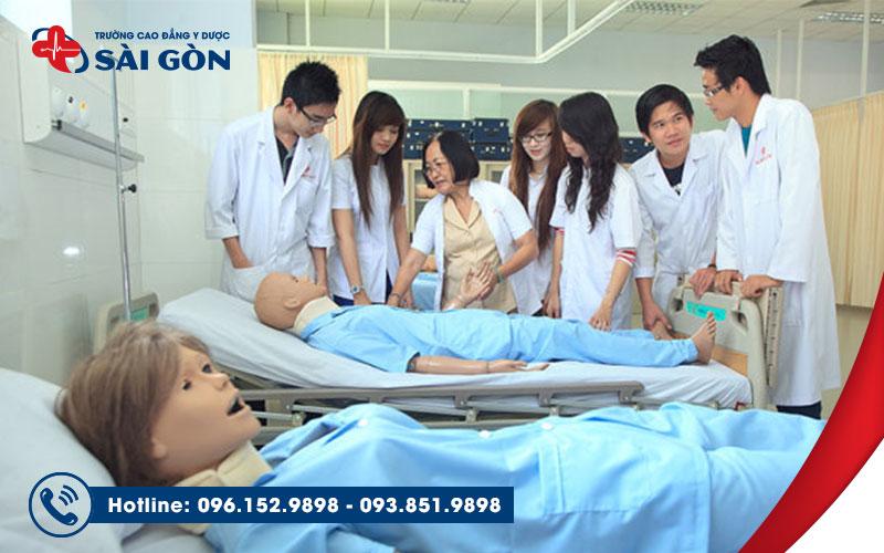 Trường Cao đẳng Y Dược Hồ Chí Minh đào tạo liên thông Cao đẳng Điều dưỡng chuyên sâu về thực hành