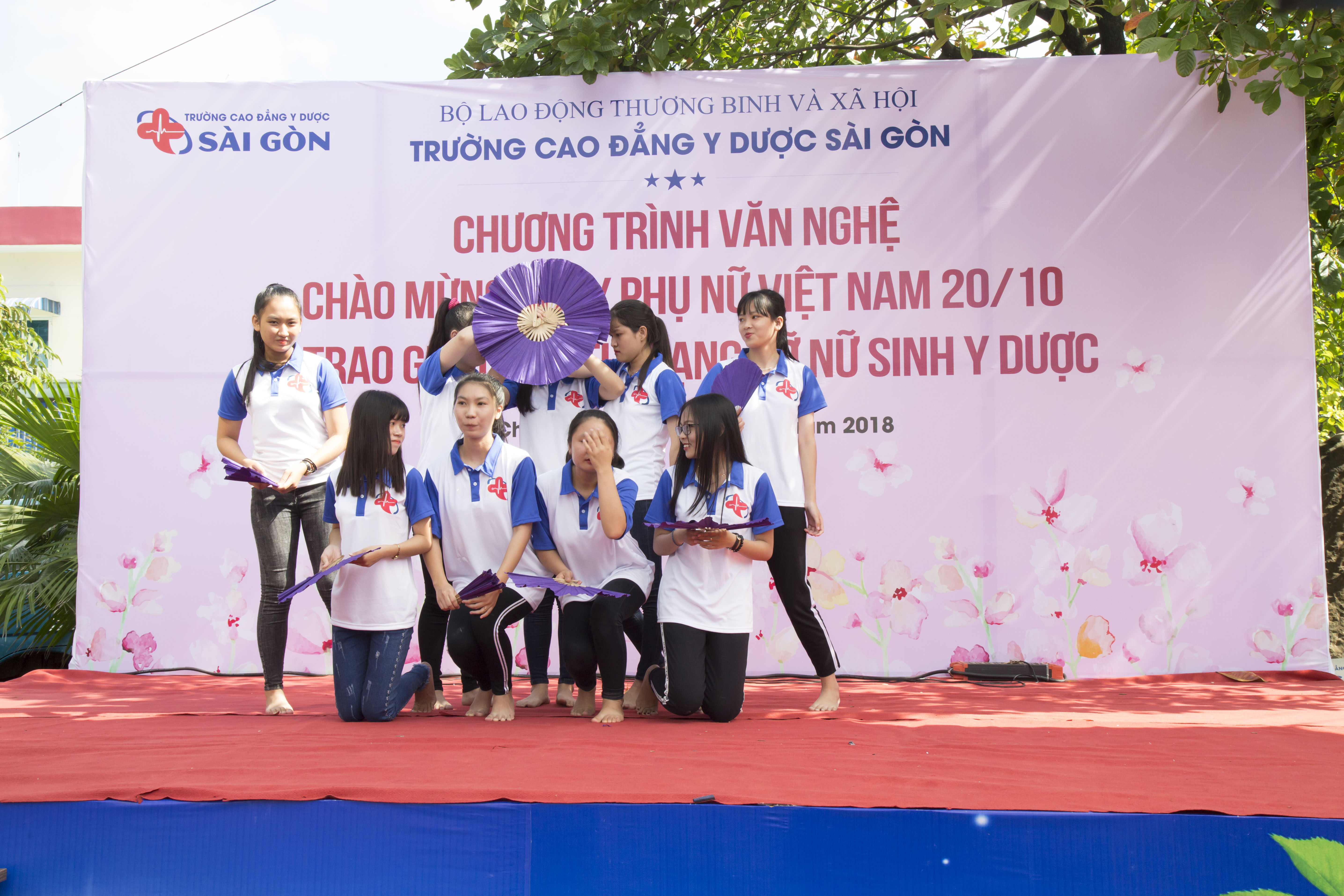 Trường Cao đẳng Y Dược Sài Gòn hưởng ứng ngày Phụ nữ Việt Nam 20/10 6