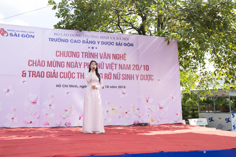 Trường Cao đẳng Y Dược Sài Gòn hưởng ứng ngày Phụ nữ Việt Nam 20/10 2