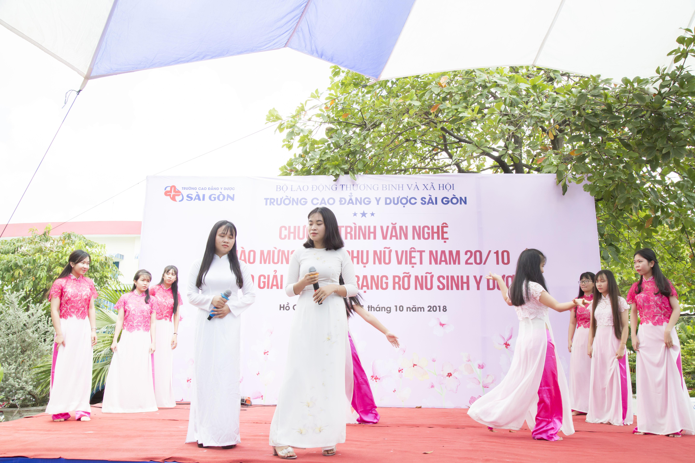 Trường Cao đẳng Y Dược Sài Gòn hưởng ứng ngày Phụ nữ Việt Nam 20/10 8
