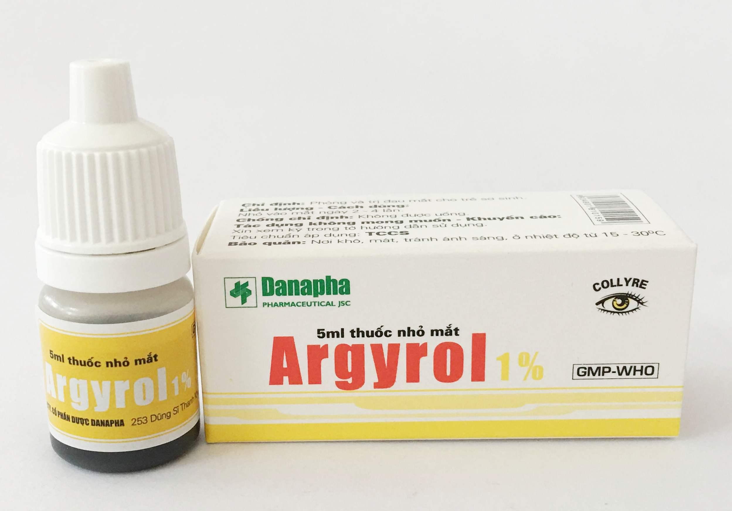 Thông tin chung về loại thuốc argyrol mọi người nên biết 1