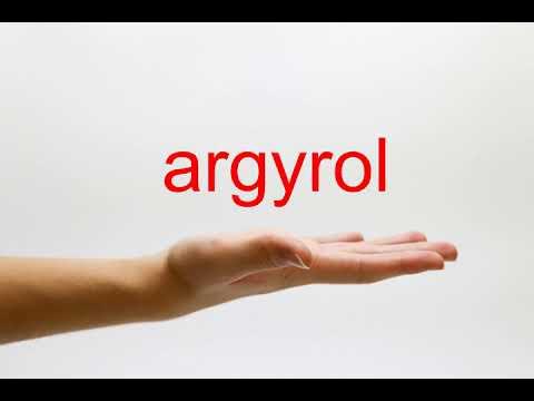 Thông tin chung về loại thuốc argyrol mọi người nên biết 3