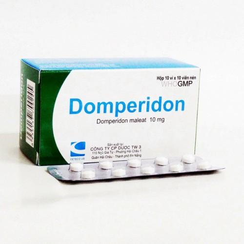 Hướng dẫn liều dùng của thuốc Domperidon 1