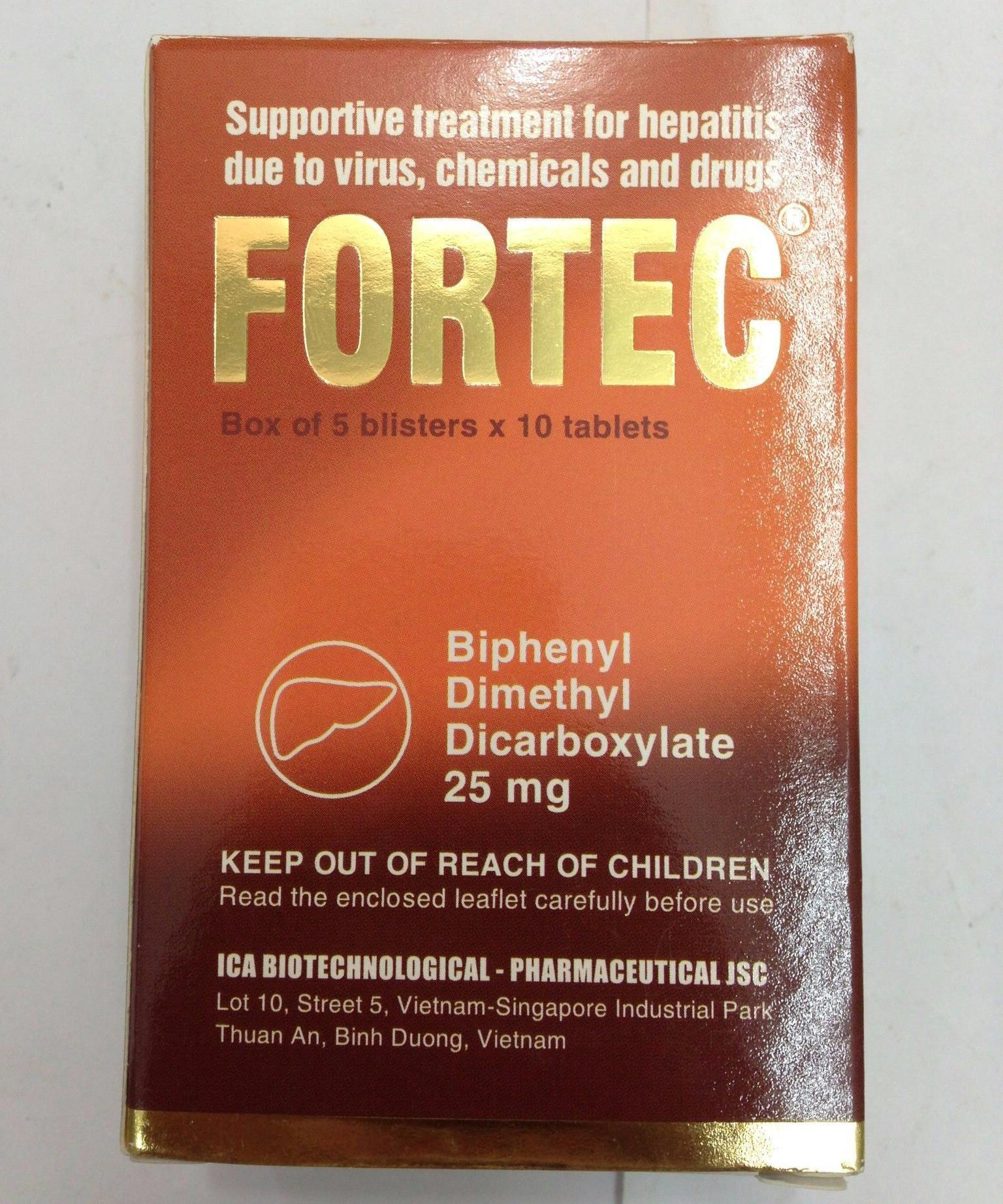 Những thận trọng trước khi dùng thuốc Fortec® 1