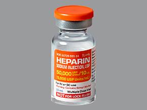 Cách dùng thuốc Heparin như thế nào an toàn? 1