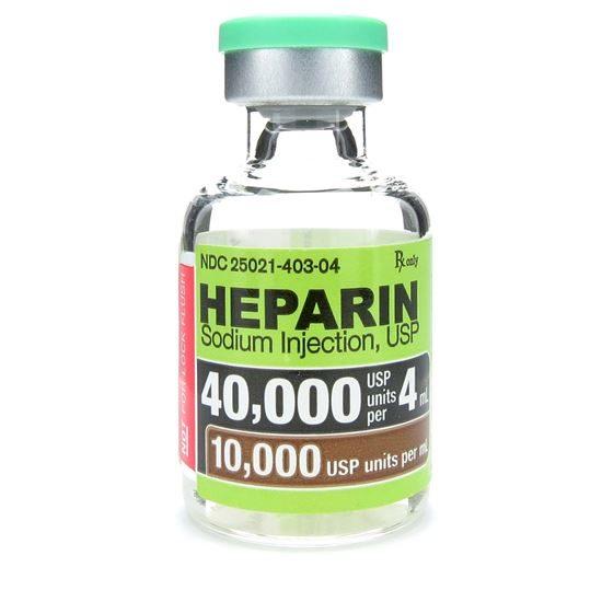 Cách dùng thuốc Heparin như thế nào an toàn? 2