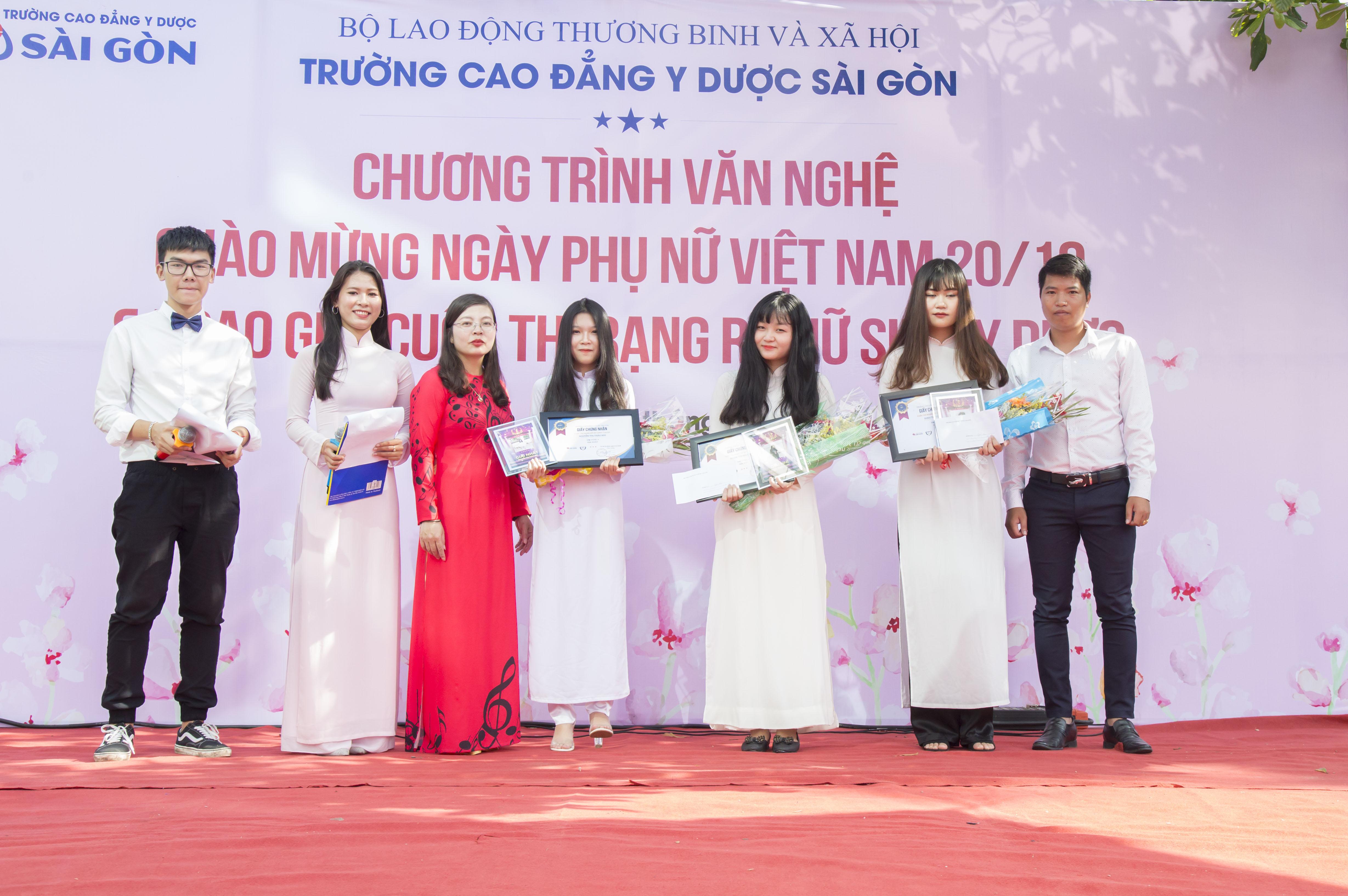 Trường Cao đẳng Y Dược Sài Gòn hưởng ứng ngày Phụ nữ Việt Nam 20/10 14