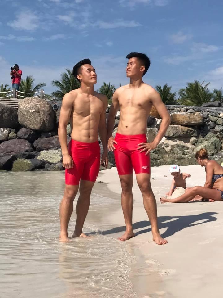 Cơ bắp [9 múi] qua cách rèn thể lực của các cầu thủ U23 Việt Nam