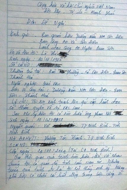Thanh Hóa: Nữ giáo viên mầm non bị tung ảnh nóng lên mạng xã hội