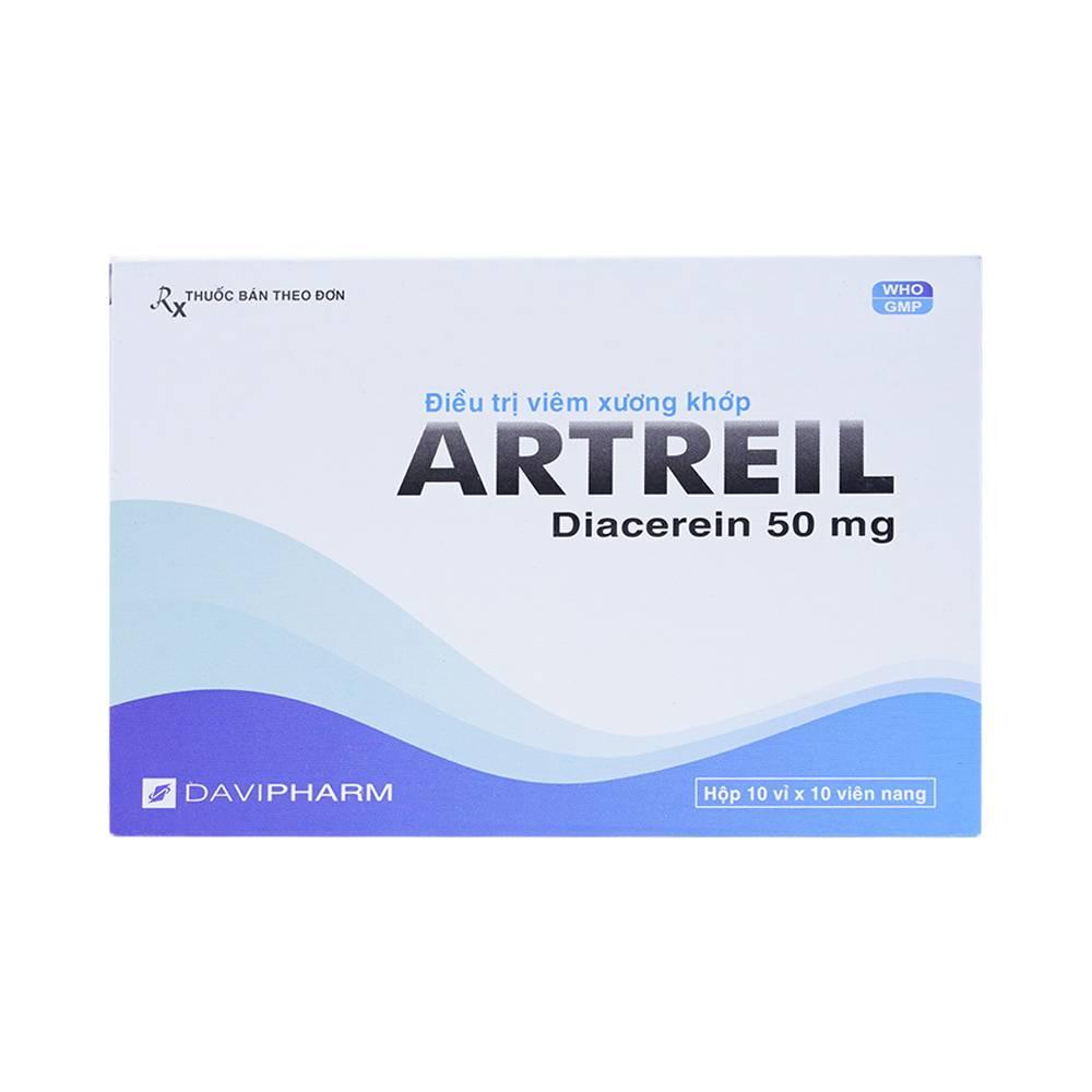 Tìm hiểu về công dụng và liều dùng của thuốc artreil 50 2