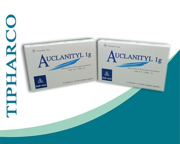 Tác dụng và liều dùng của thuốc auclanityl 1