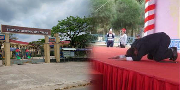 Thực hư chuyện bắt cô giáo quỳ xin lỗi trước thềm thi THPT Quốc gia