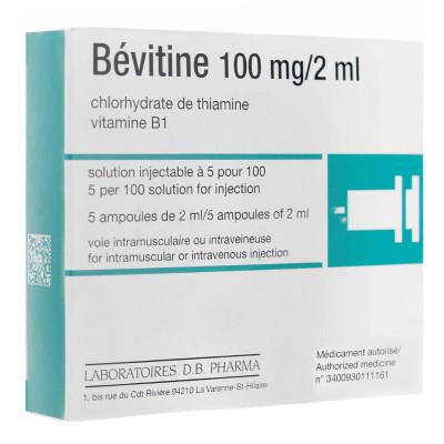 Hướng dẫn về liều dùng của thuốc Bevitine 1