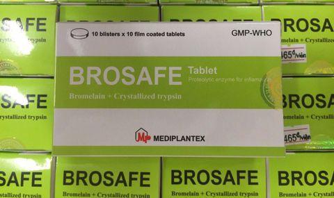 Tác dụng và liều dùng của thuốc Brosafe như thế nào? 1
