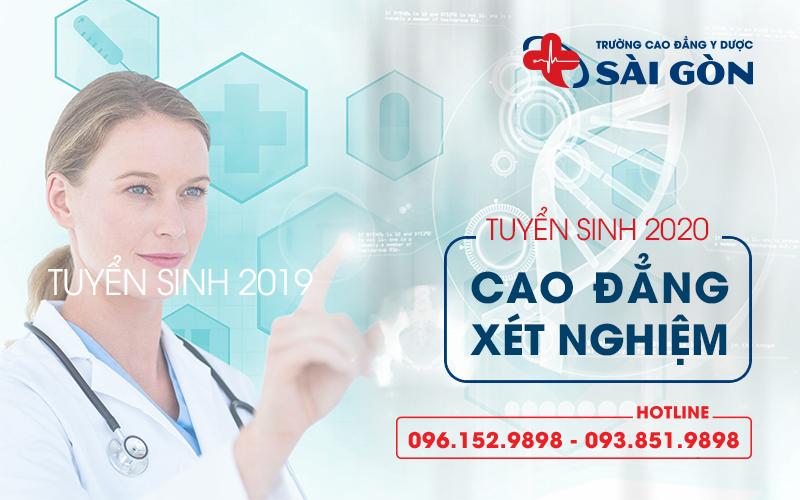 tuyển sinh cao đẳng xét nghiệm y học