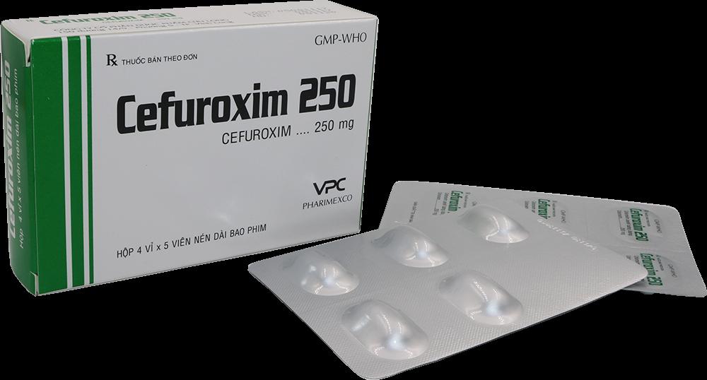 Tìm hiểu chỉ định & Chống chỉ định của thuốc Cefuroxim 1