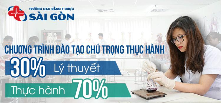 Chương trình đào tạo Trường Cao đẳng Y Dược Sài Gòn