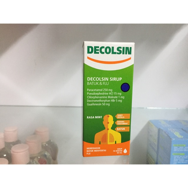 Decolsin® - Tác dụng & Liều dùng của thuốc 2