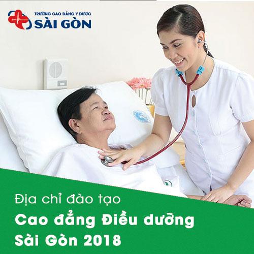 Địa chỉ đào tạo Cao đẳng Điều dưỡng 2018