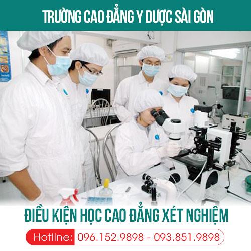 dieu-kien-hoc-cao-dang-ky-thuat-xet-nghiem-y-hoc-tphcm-nam-2019