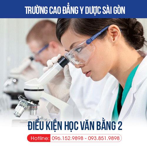 dieu-kien-xet-tuyen-van-bang-2-cao-dang-ky-thuat-xet-nghiem-y-hoc-tphcm-nam-2019