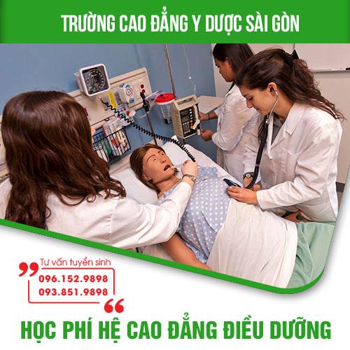 Học phí văn bằng 2 Cao đẳng điều dưỡng TP HCM