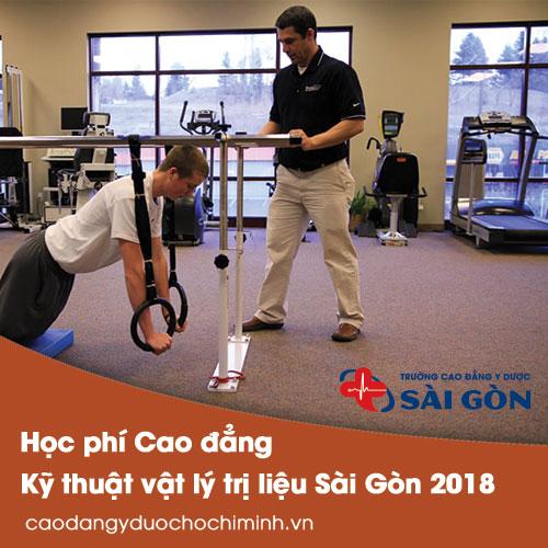 Học phí Cao đẳng Kỹ thuật Vật lý trị liệu Sài Gòn năm 2018