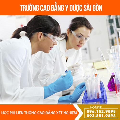 hoc-phi-lien-thong-cao-dang-xet-nghiem-tphcm-nam-2019