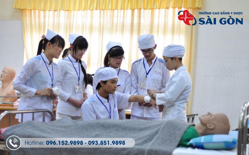 Trường cao đẳng Y Dược Sài Gòn đào tạo chất lượng