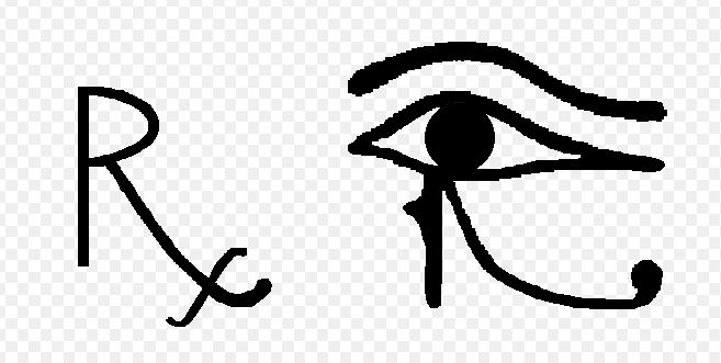 Biểu tượng Rx trong y học
