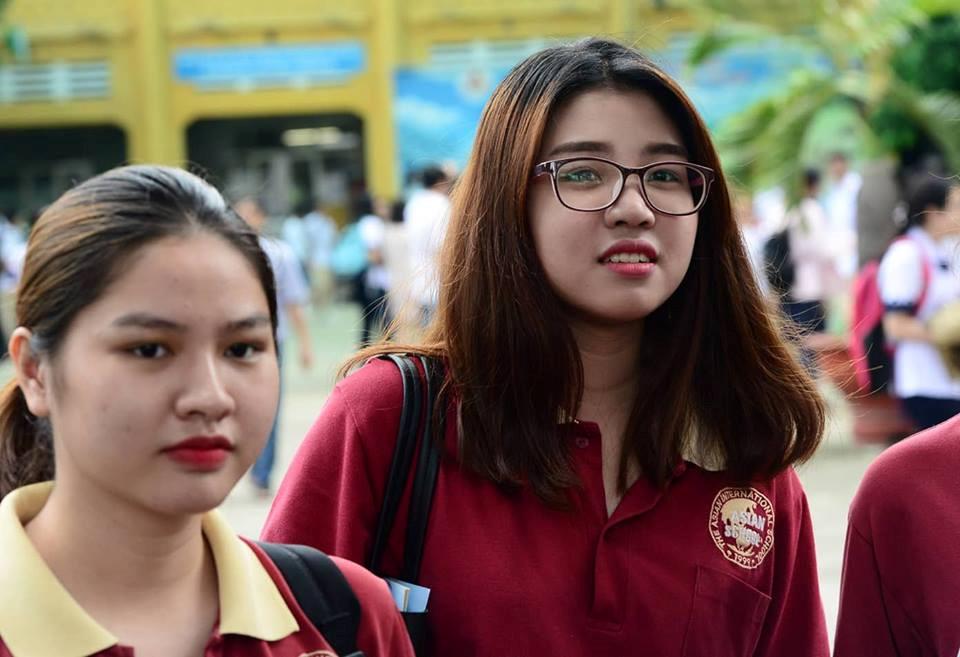 Học sinh tham dự kỳ thi THPT quốc gia 2018