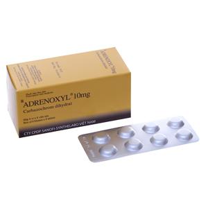 Thuốc adrenoxyl là gì? Tác dụng và liều lượng sử dụng như thế nào? 1