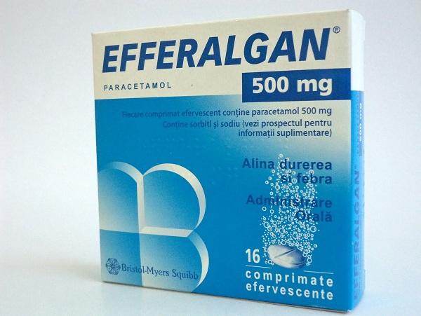 Hướng dẫn sử dụng thuốc hạ sốt giảm đau Efferalgan 500mg