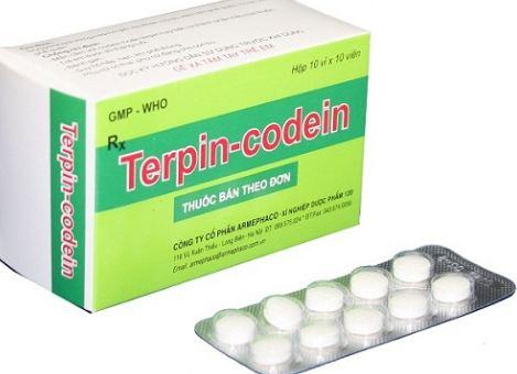 Lưu ý khi dùng thuốc Terpin-Codein®