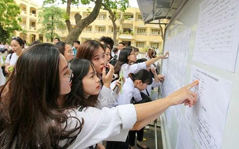 TIN TỨC: Do sơ suất kỹ thuật Nghệ An bị lộ điểm thi THPT Quốc gia 2
