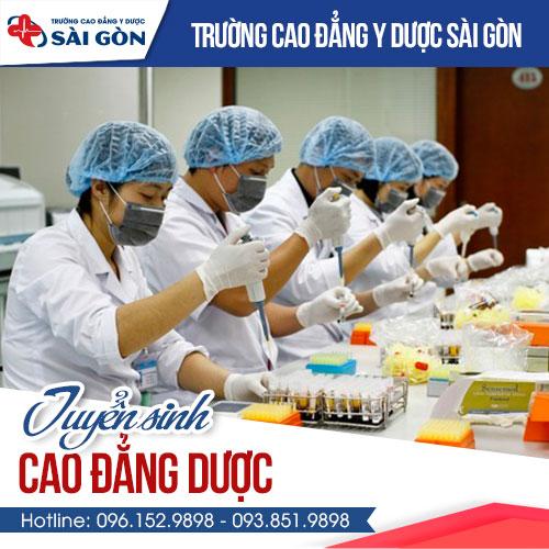 Địa chỉ học Cao đẳng Dược Sài Gòn chất lượng