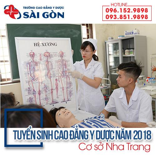 Thông báo tuyển sinh Cao đẳng Y Dược cơ sở Nha Trang