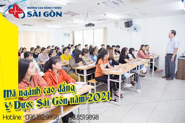 Mã Ngành trường cao đẳng Y Dược Sài Gòn