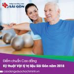 Điểm chuẩn Cao đẳng Kỹ thuật Vật lý trị liệu Sài Gòn năm 2018