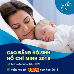 Học phí Cao đẳng Hộ sinh Hồ Chí Minh năm 2018 là bao nhiêu?