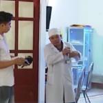 PGĐ bệnh viện ở Nghệ An bị người nhà bệnh nhân lao xe vào khoa cấp cứu hành hung