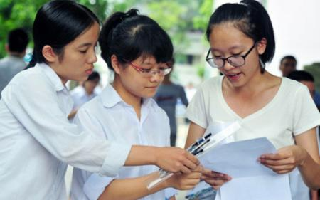 Phân loại học sinh ở các môn thi trong đề thi minh họa  2018