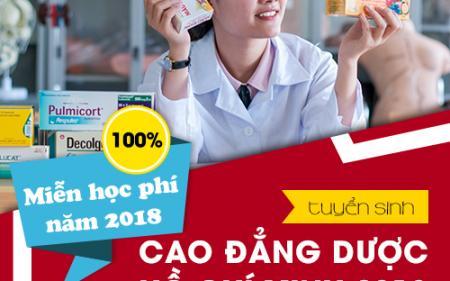 Thông báo tuyển sinh Cao đẳng Dược Hồ Chí Minh năm 2018