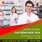 Thông báo tuyển sinh Văn bằng 2 Cao đẳng Dược Hồ Chí Minh năm 2018