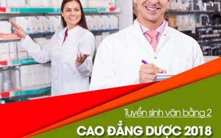 Thông báo tuyển sinh Văn bằng 2 Cao đẳng Dược Sài Gòn năm 2018