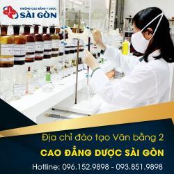 Trường Cao đẳng Y dược Sài Gòn tuyển sinh văn bằng 2 tại TP HCM